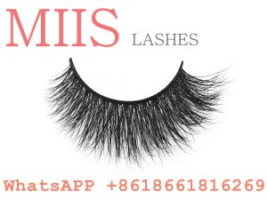 soft 3d real mink false lashes